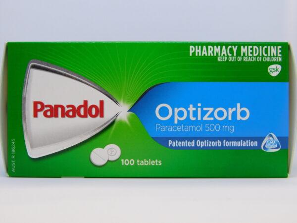 Panadol Optisorb Tablets 100
