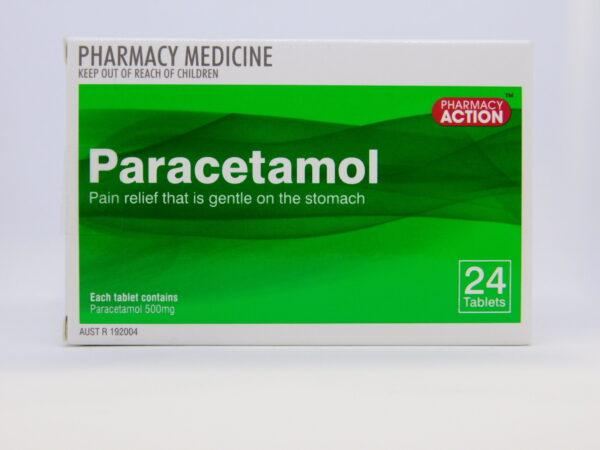 Paracetamol PA Tablets 24