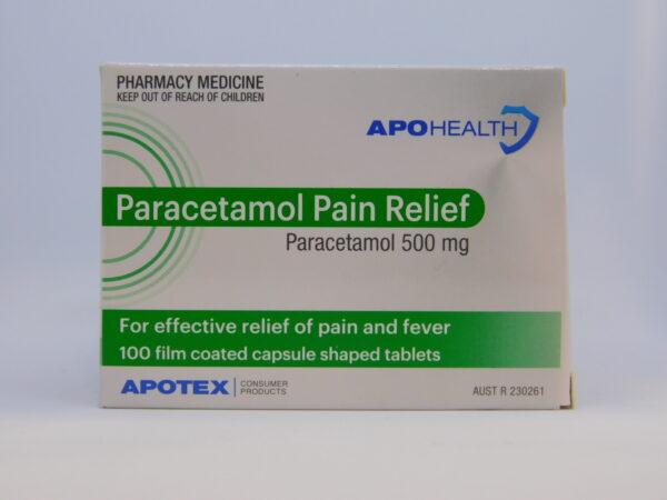 Paracetamol APO Tablets 100