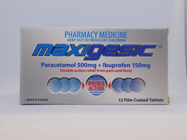 Maxigesic Tablets 12