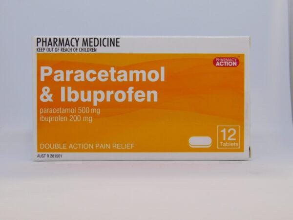 Paracetamol & Ibuprofen PA 12