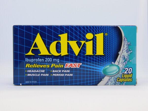Advil Liquid Capsules 24