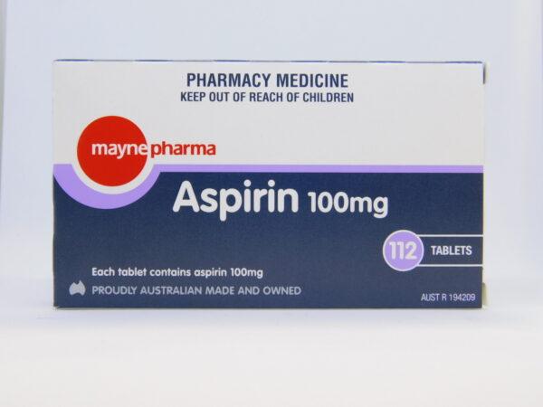 Aspirin Mayne Tablets 112