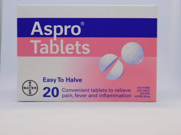 Aspro Tablets 20
