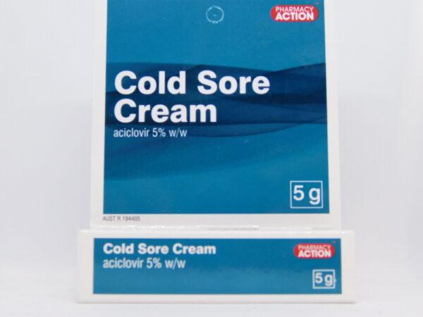 Cold Sore Cream PA 5g