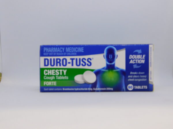 Durotuss Chesty Cough Tablets 60