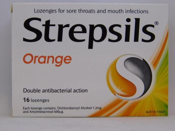 Strepsils Orange Lozenges 16
