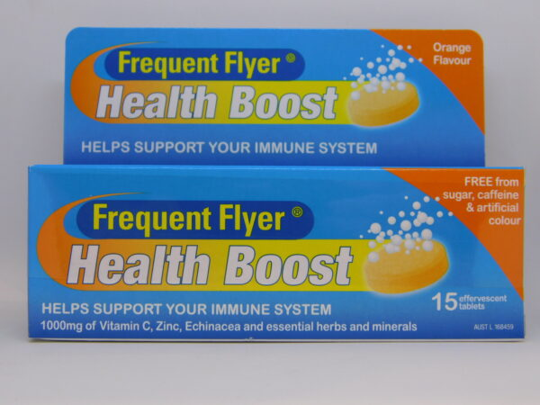 Frequent Flyer Health Boost Effervescent Tablets 15
