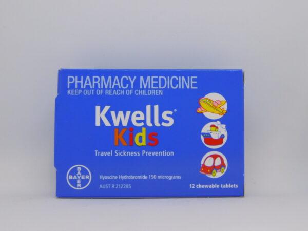 Kwells Kids Travel Sickness Chewable Tablets 12