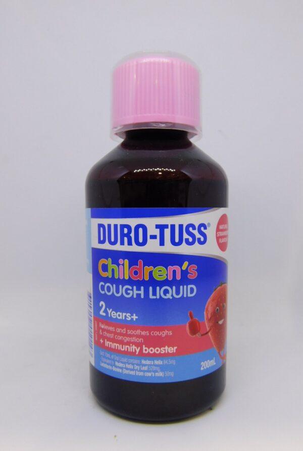 Durotuss Childrens Cough Liquid 2 Years+ 200mL