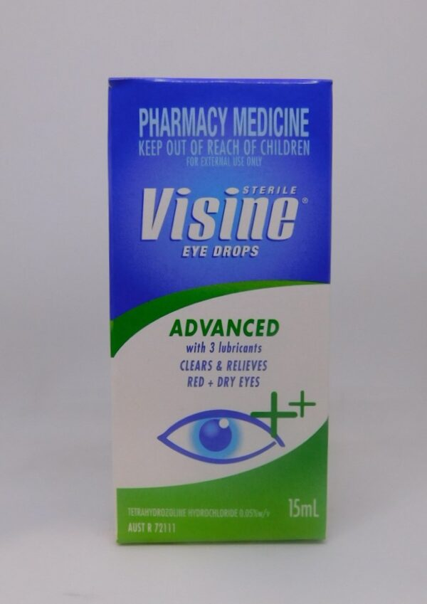Visine Advanced 15mL